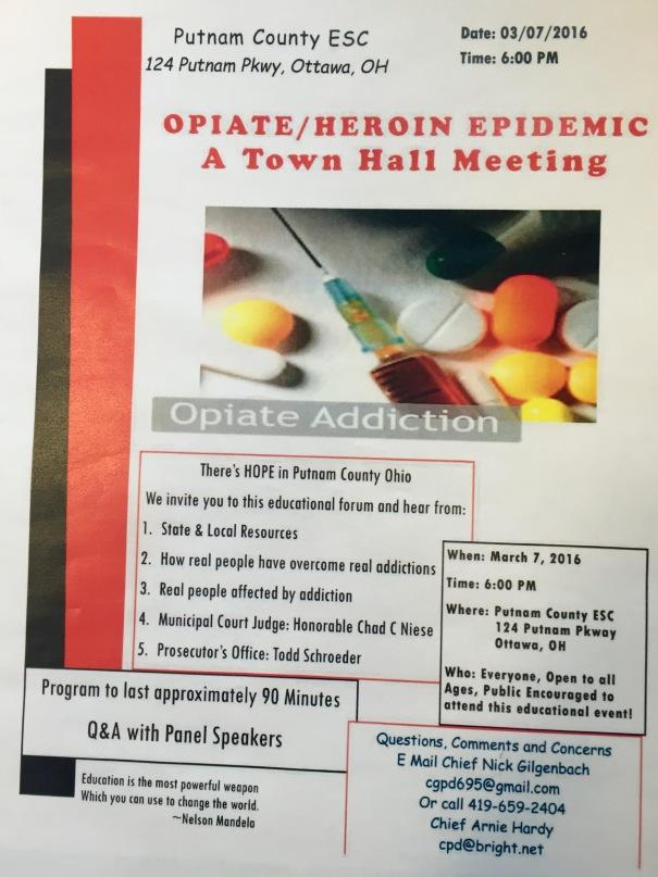 Opiate/Heroin Epidemic Flyer